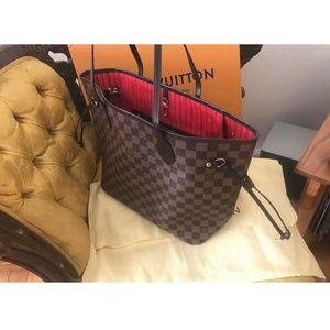 Louis Vuitton Never full MM Damier Ebene
